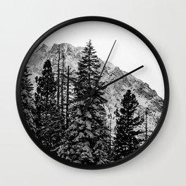 June Lake: Carson Peak Wall Clock