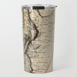 Map of Syria 1817 Travel Mug