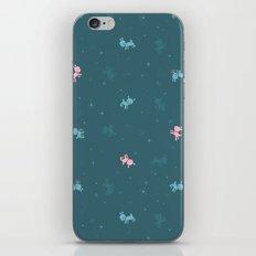 Reindeer Frolic (tiling pattern) iPhone & iPod Skin