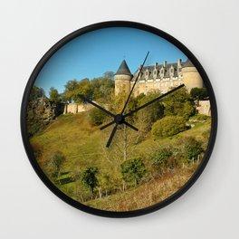 Photo France Castle Of Rochechouart, Haute-Vienne, Limousin Castles Cities castle Wall Clock