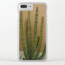 Cabo Cactus XI Clear iPhone Case