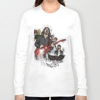 foo fighters Long Sleeve T-shirts featuring Foo Fighting by Jaimie