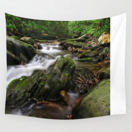Rushing By Wall Tapestry