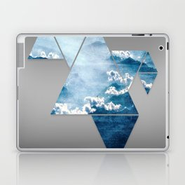 Fragmented Clouds Laptop & iPad Skin