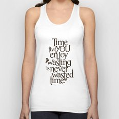 Wasting Time Unisex Tank Top