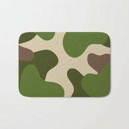 Camouflage Pattern (Camo) Bath Mat