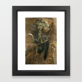 Hommage à Cranach IV Framed Art Print