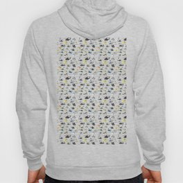 Multiple Helicopters Pattern Hoody