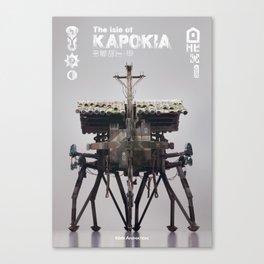 The isle of KAPOKIA : MULTI-LEGGED ROBOT - old type Canvas Print