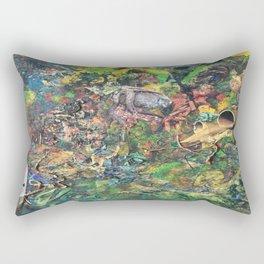 Miasmic Jungle Rectangular Pillow