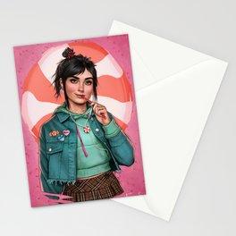 Candy princess Stationery Cards
