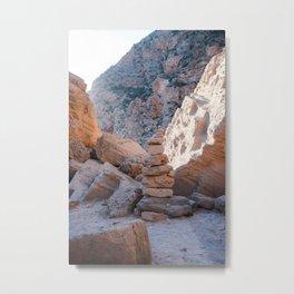 Stacked Stones Ibiza, Spain - Wall Art Photo Print Metal Print
