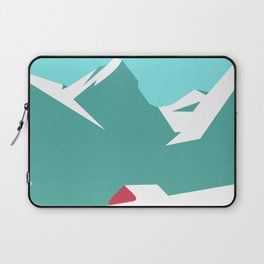 icy mountain Laptop Sleeve
