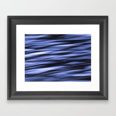 Abstract Water Framed Art Print