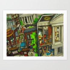 Gallery Place - DC 2011 Art Print