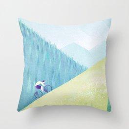 Pyrenees Throw Pillow