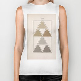 Antique Color Theory Biker Tank