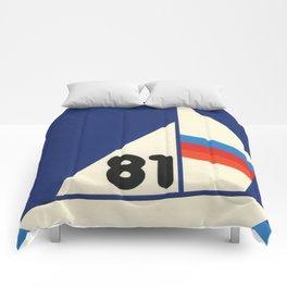 Sailing Regatta 81 Comforters