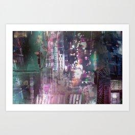 Cityscape 03 Art Print