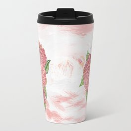 Heart of Rose Travel Mug