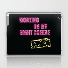 Working on My Night Cheese Laptop & iPad Skin