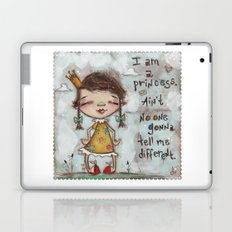I Am a Princess - by Diane Duda Laptop & iPad Skin