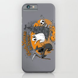 Goth Xmas Is Here iPhone Case