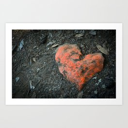 Finding Love Art Print