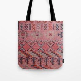 V21 New Traditional Moroccan Design Carpet Mock up. Tote Bag