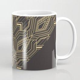 Art Deco Geometric Glam Coffee Mug