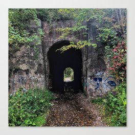 The Screaming Tunnel Canvas Print