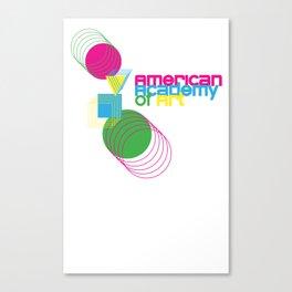 American Academy of Art Geometric Print  Canvas Print