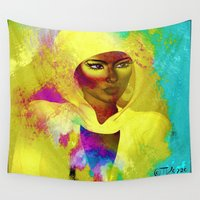 philosophy Wall Tapestries featuring Colors Of Philosophy by TK0920