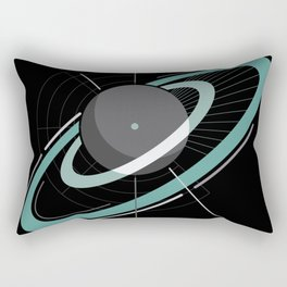 Ringed planet Rectangular Pillow