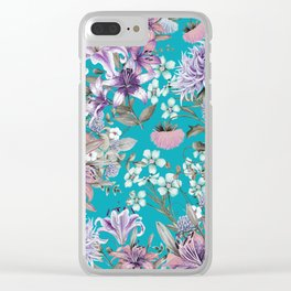 FLORAL GARDEN 10 Clear iPhone Case