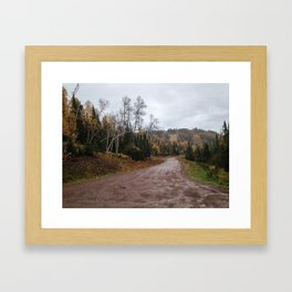 Lutsen in Autumn Framed Art Print