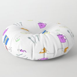 Cutesie Pattern Floor Pillow