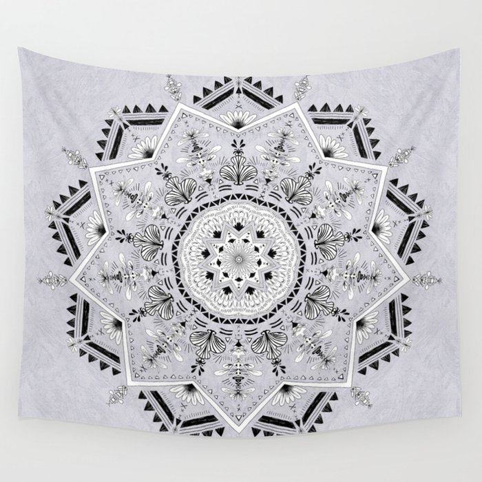 Star Mandala Wall Tapestry
