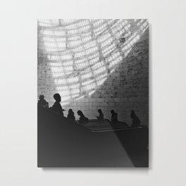 Lisbon metro Metal Print