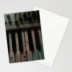 Music.Death.Analog Stationery Cards