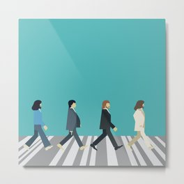 The tiny Abbey Road Metal Print