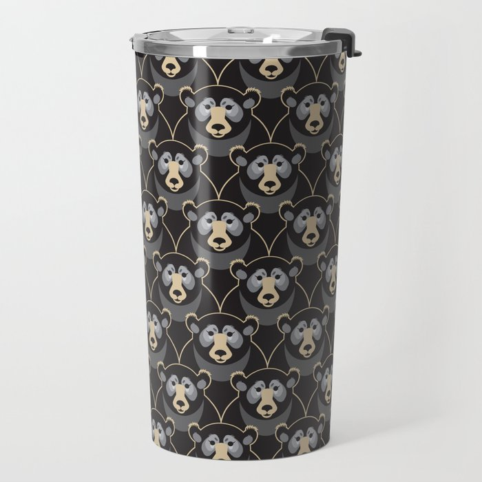 Little Black Bears Travel Mug