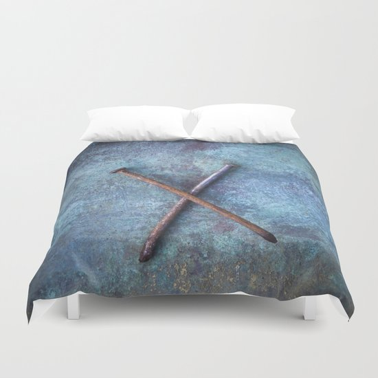 Two Nails Duvet Cover