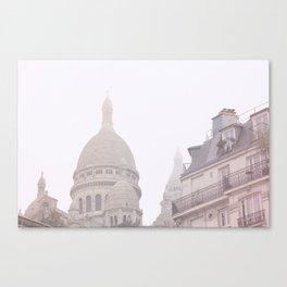 Fog coeur Canvas Print