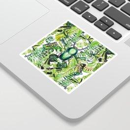 Malachite Print Sticker