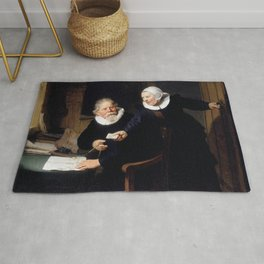 The Shipbuilder and his Wife: Jan Rijcksen (1560/2-1637) and his Wife, Griet Jans Rug