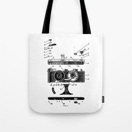 FED Stereo Camera Tote Bag