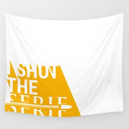 Shot the Serif Wall Tapestry