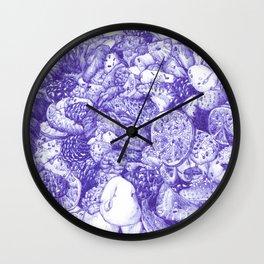 Porno Fruta Wall Clock