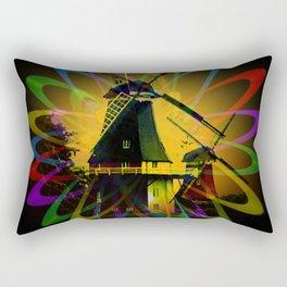 Windmills - Greetsiel Rectangular Pillow